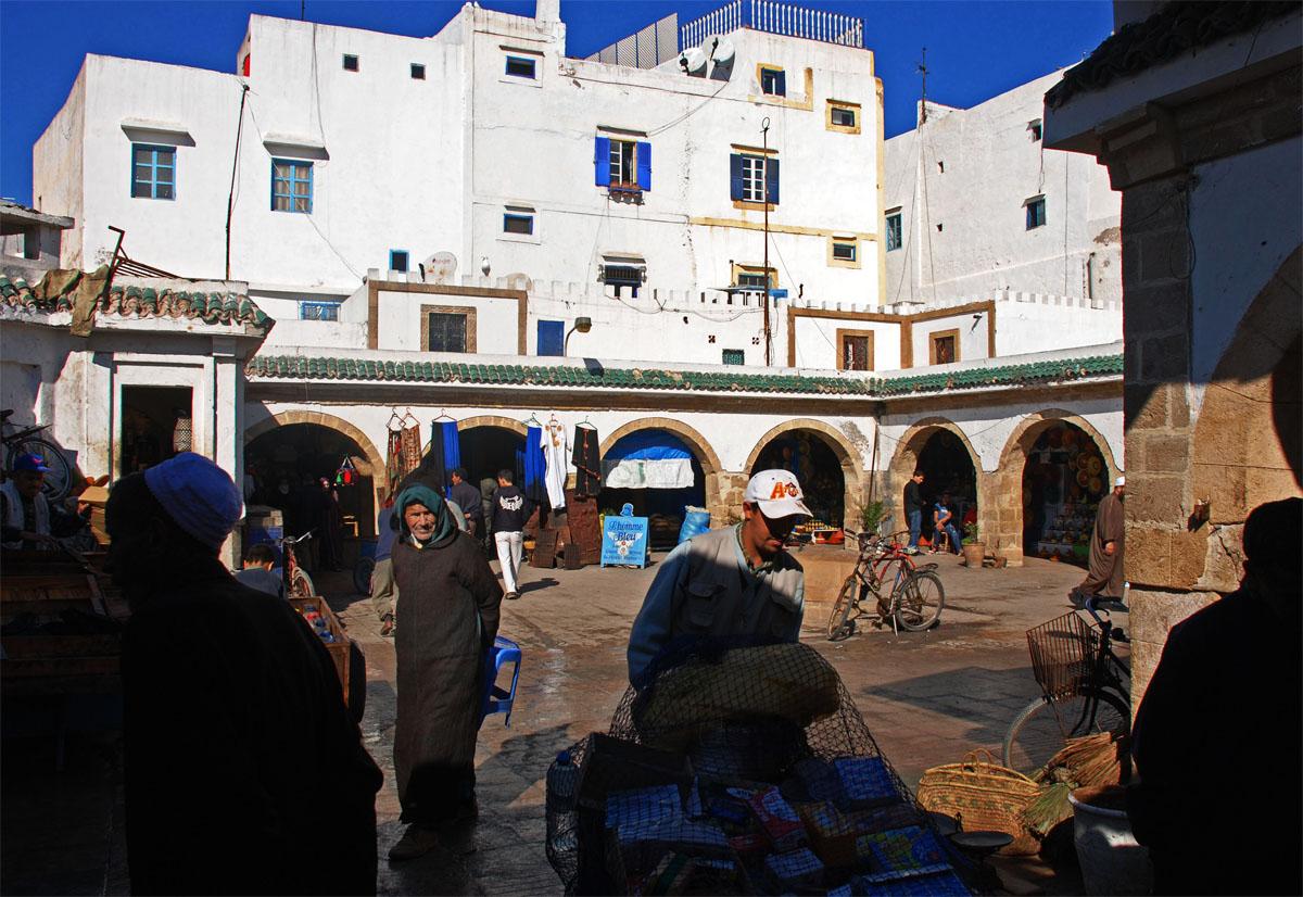 Mercato del pesce, Essaouira, Marocco 2017